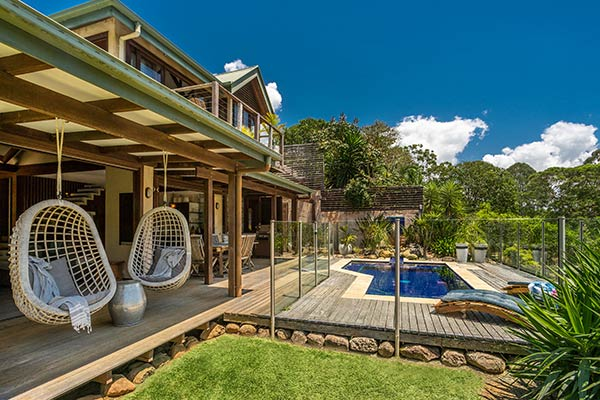 BlueGreen House- accommodation Byron Bay